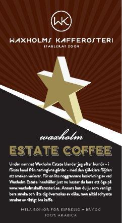 Waxholm Estate Coffee